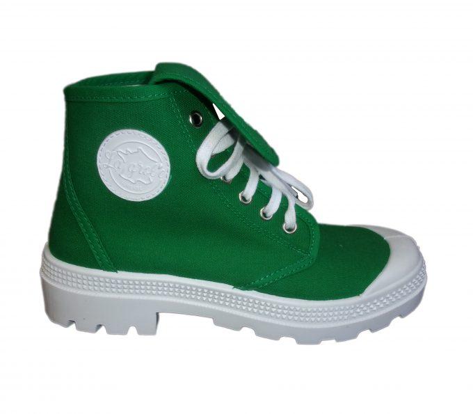 la grole - chaussures tendances vert fonce