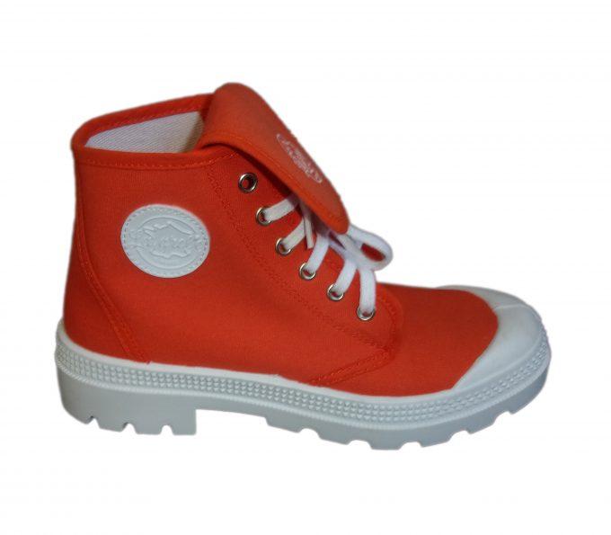 la grole - chaussures tendances orange