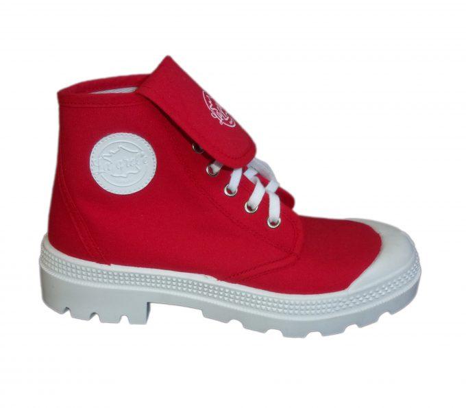 la grole - chaussures tendances rouge