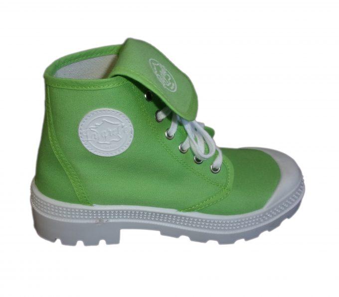 la grole - chaussures tendances vert clair